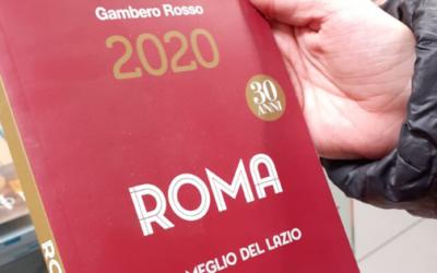 Siamo sulla guida Gambero Rosso 2020!!!